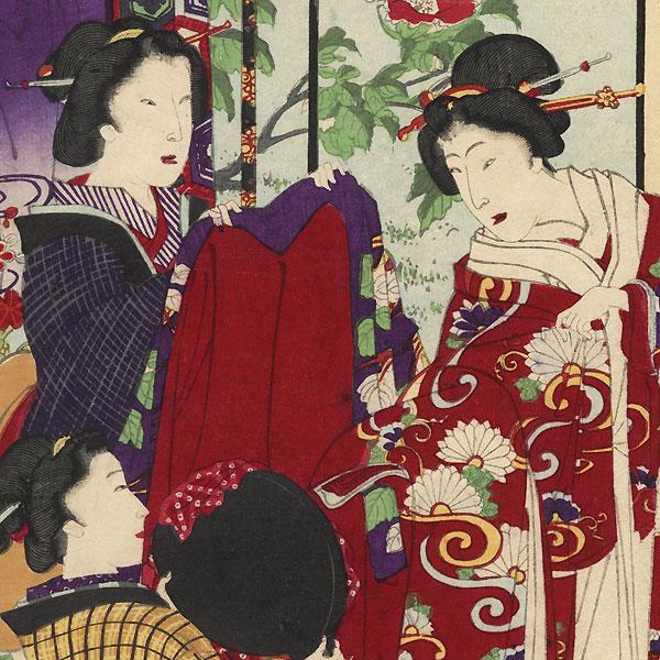 Yokobue, Chapter 37 by Kunichika (1835 - 1900)