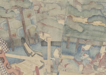 The Pine of Success, 1857 by Toyokuni III/Kunisada (1786 - 1864)