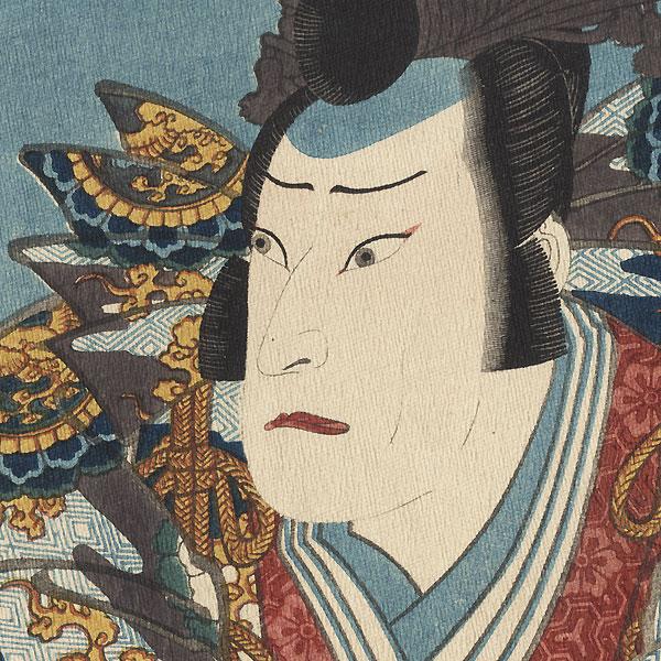 Actor as a Nobleman by Hirosada (active circa 1847 - 1863)
