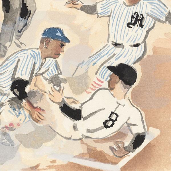 Baseball by Wada Sanzo (1883 - 1968)