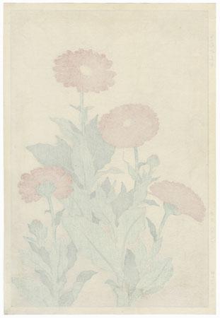 Pot Marigold by Kawarazaki Shodo (1889 - 1973)