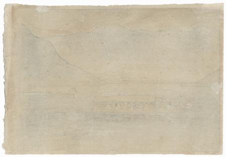 Dal Lake, Kashmir, 1916 by Charles William Bartlett (1860 - 1940)