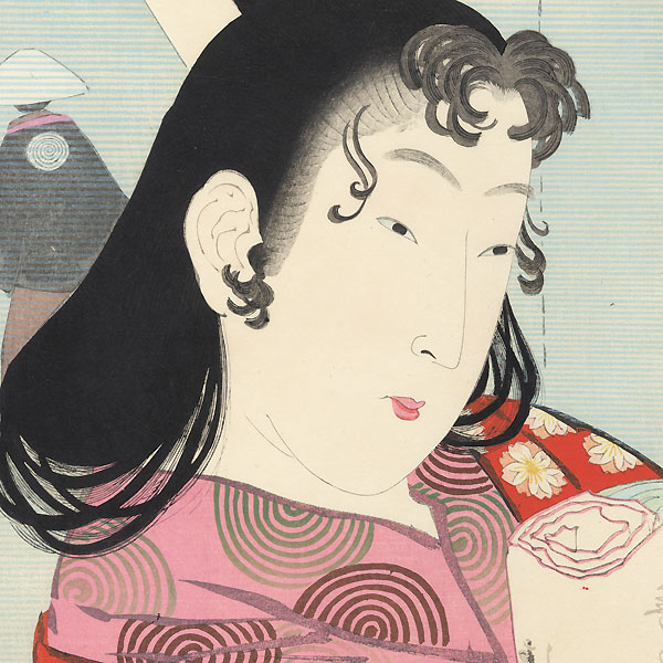 The Kan'ei to Shoho Era by Kiyochika (1847 - 1915)