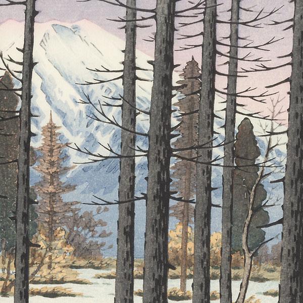 Mt. Fuji from Lake Yamanaka, 1949 by Ito Takahashi (1894 - 1982)