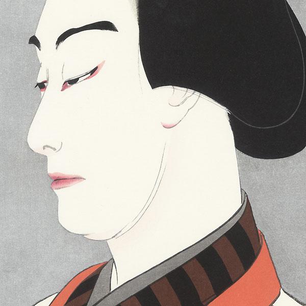 Nakamura Ganjiro I as Akaneya Hanshichi, 1920 by Yamamura Toyonari (Koka) (1885 - 1942)
