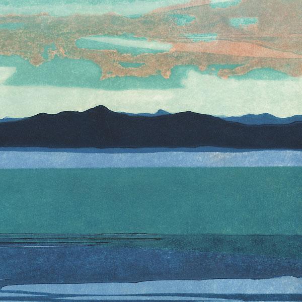 Dawn at Sea, 1969 by Shinjiro Nozaki (born 1923)
