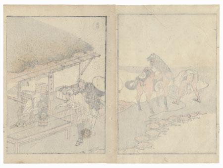 Okabe by Hokusai (1760 - 1849)