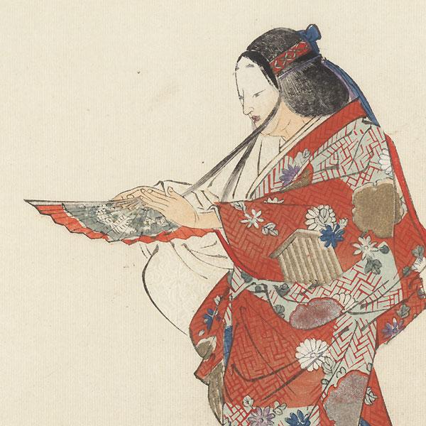 Tamakazura (Lady Tamakazura) by Tsukioka Kogyo (1869 - 1927)