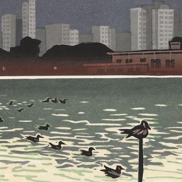 Ueno by Junichiro Sekino (1914 - 1988)
