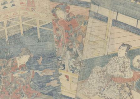 The Fifth Month, 1856 by Toyokuni III/Kunisada (1786 - 1864)