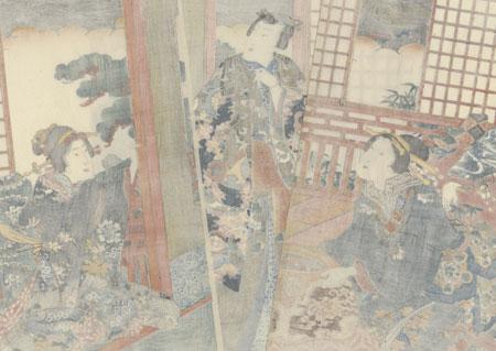 Daiju (No. 10), 1856 by Toyokuni III/Kunisada (1786 - 1864)