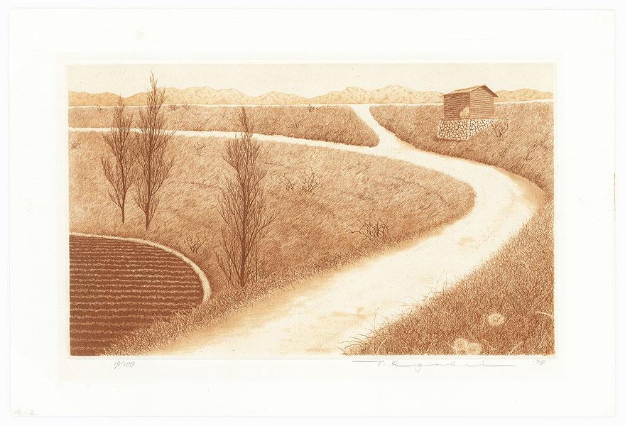 Road to the River, 1974 by Tanaka Ryohei (born 1933)