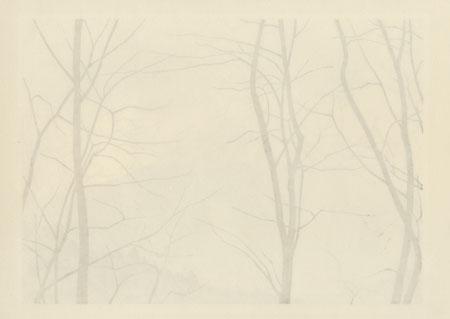 Misaka Ridge, 1986 by Fukui Masao