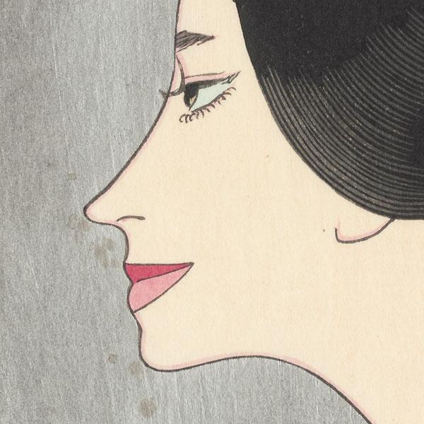 Portrait of a Woman, 1969 by Keiichi Takasawa (1914 - 1984)