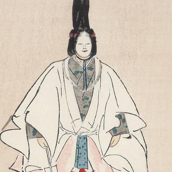 Makiginu (Rolls of Silk) by Tsukioka Kogyo (1869 - 1927)