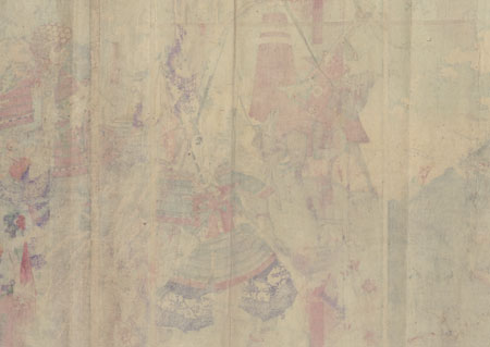 The Seven Spears of Shizugadake, 1883 by Toyonobu (1859 - 1886)