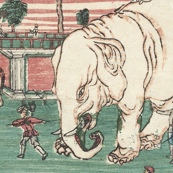 Elephants by Meiji era artist (unsigned)