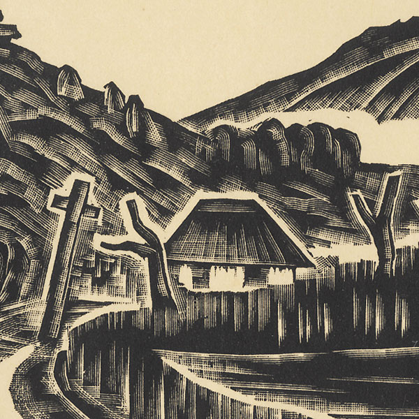 Country Road, 1927 by Unichi Hiratsuka (1895 - 1997)