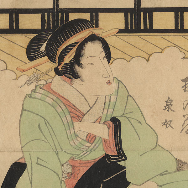 Seated Beauty by Eisen (1790 - 1848)