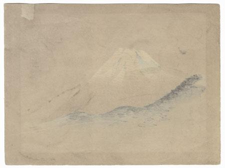 View of Mt. Fuji by Meiji era artist (not read)