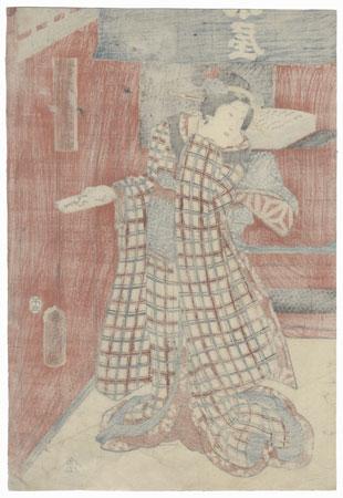 The Shirokiya Timber Store, 1858 by Toyokuni III/Kunisada (1786 - 1864)