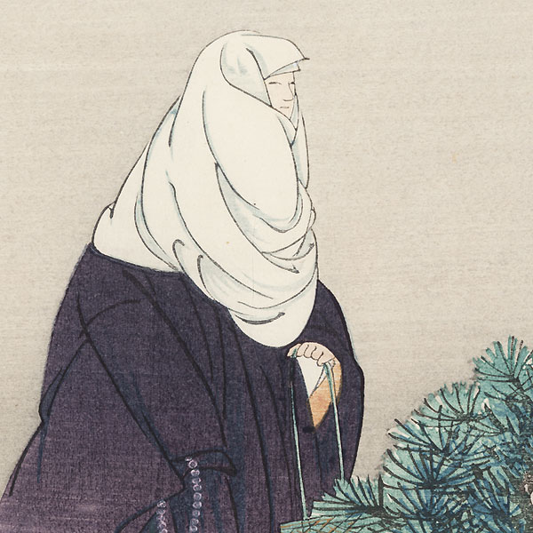 Drastic Price Reduction Moved to Clearance, Act Fast! by Tsukioka Kogyo (1869 - 1927)