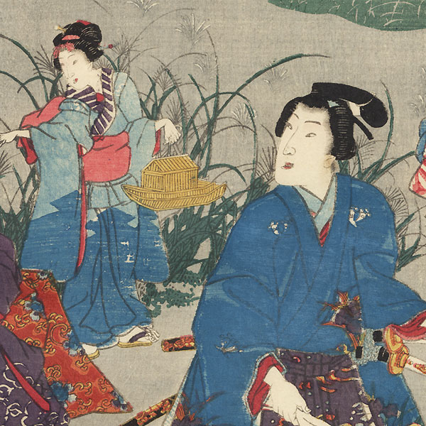Nowaki, Chapter 28 by Kunisada II (1823 - 1880)