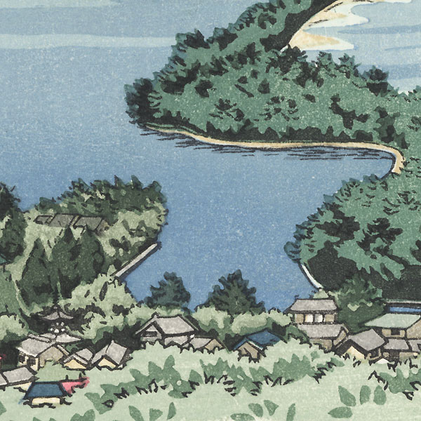 Panoramic View of the Water by Masao Ido (1945 - 2016)