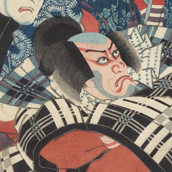 The Sixth Month, 1852 by Kunisada II (1823 - 1880)