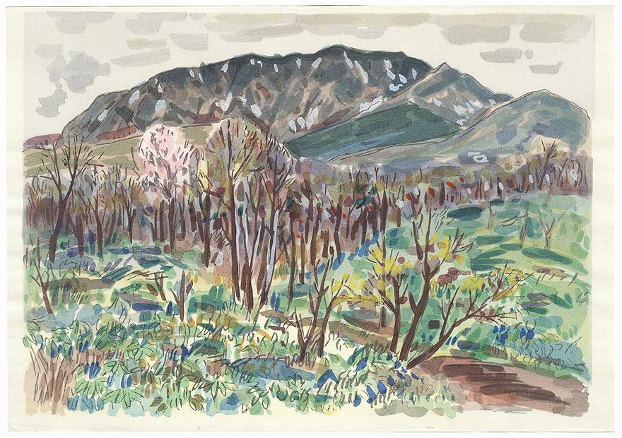 Autumn Landscape by Kobayashi Wasaku (1888 - 1974)
