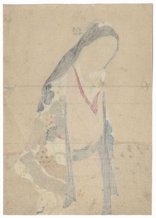 March Kuchi-e Print by Ikeda Shoen (1884 - 1917)
