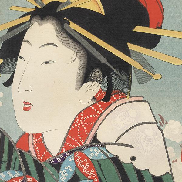 The Bunka Era (1804 - 1818) by Kiyochika (1847 - 1915)