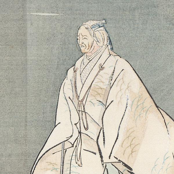 Obasute (Abandoned Old Woman) by Tsukioka Kogyo (1869 - 1927)