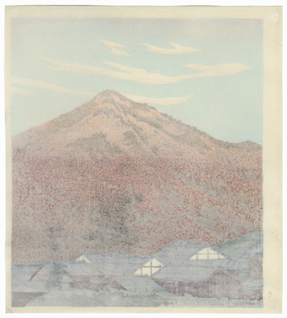 Mt. Hiei by Tokuriki (1902 - 1999)