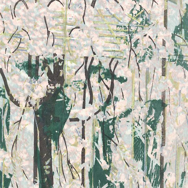 Drooping Cherry Tree, 1970 by Fumio Kitaoka (1918 - 2007)