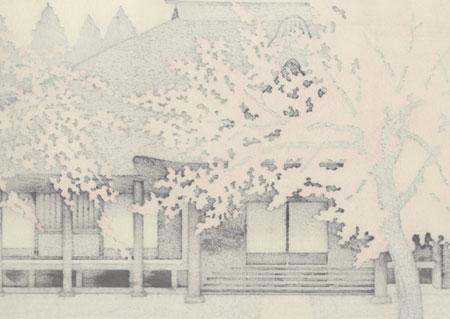 Spring in Kamakana by Tatsuo Kawashima (born 1939)