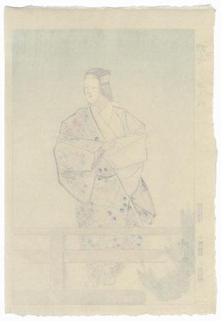 August: Hanjo (Lady Han) by Hideyo Matsuno (1936 - 2002)