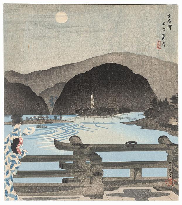 Full Moon by Tokuriki (1902 - 1999)