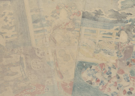 Winter Scene from Inaka Genji, 1847 - 1852 by Toyokuni III/Kunisada (1786 - 1864)