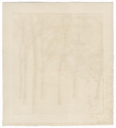 Trees, 1959 by Tetsuro Komai (1920 - 1976)
