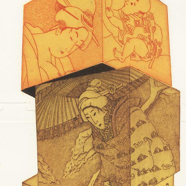 Onnas, 1982 by Ouchi Makoto (1926 - 1989)