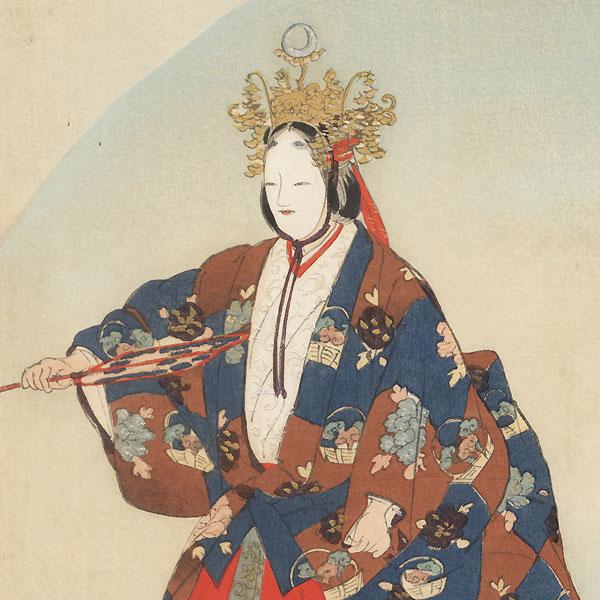 Ikkaku sennin by Tsukioka Kogyo (1869 - 1927)