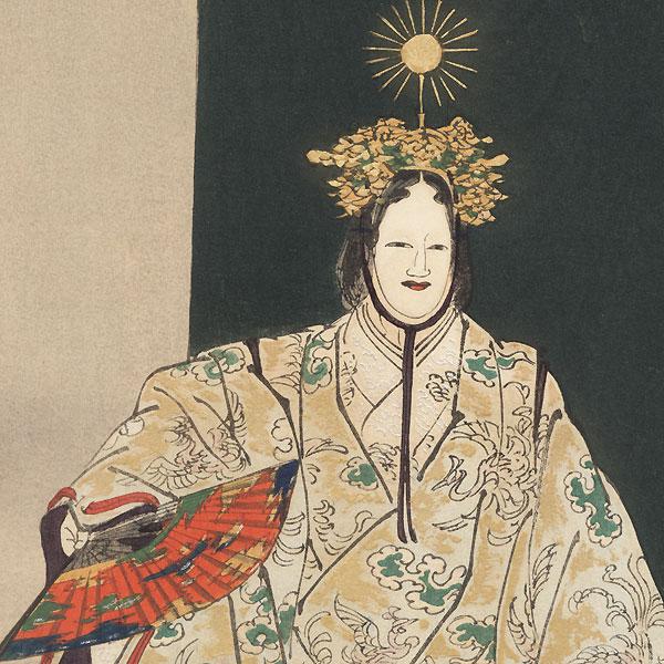Ema by Tsukioka Kogyo (1869 - 1927)