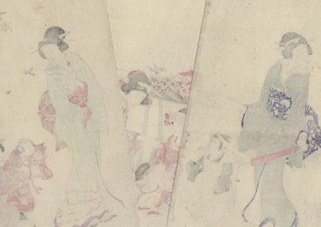 Seven-Five-Three Festival by Kokunimasa (1874 - 1944)