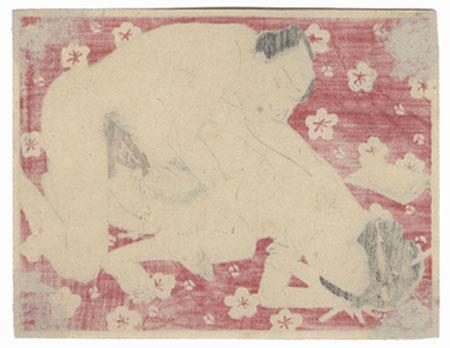 Antique Meiji era Shunga - ca. 1900  by Meiji era artist (unsigned)