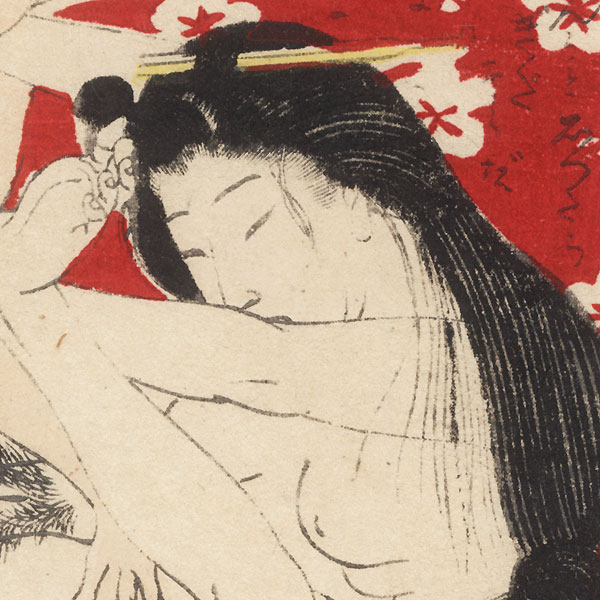 Antique Meiji era Shunga - ca. 1900  by Meiji era artist (unsigned)