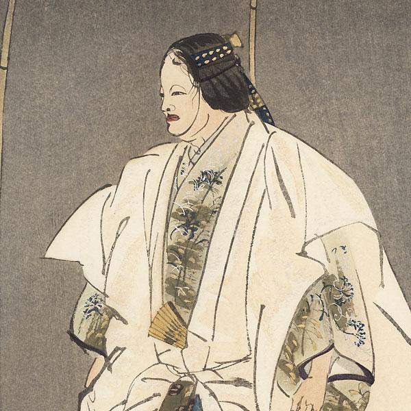 Motomezuka by Tsukioka Kogyo (1869 - 1927)