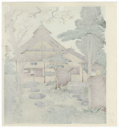 Teahouse by Tokuriki (1902 - 1999)