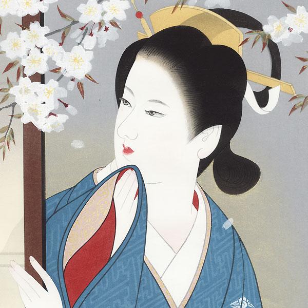 Spring Evening by Miyashita Hisanori  (1922 - ?)