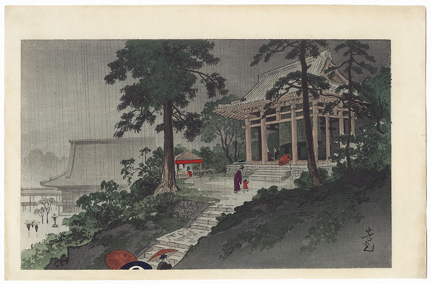 Great Bell of Chion-in Temple by Nomura Yoshimitsu (1870 - 1958)